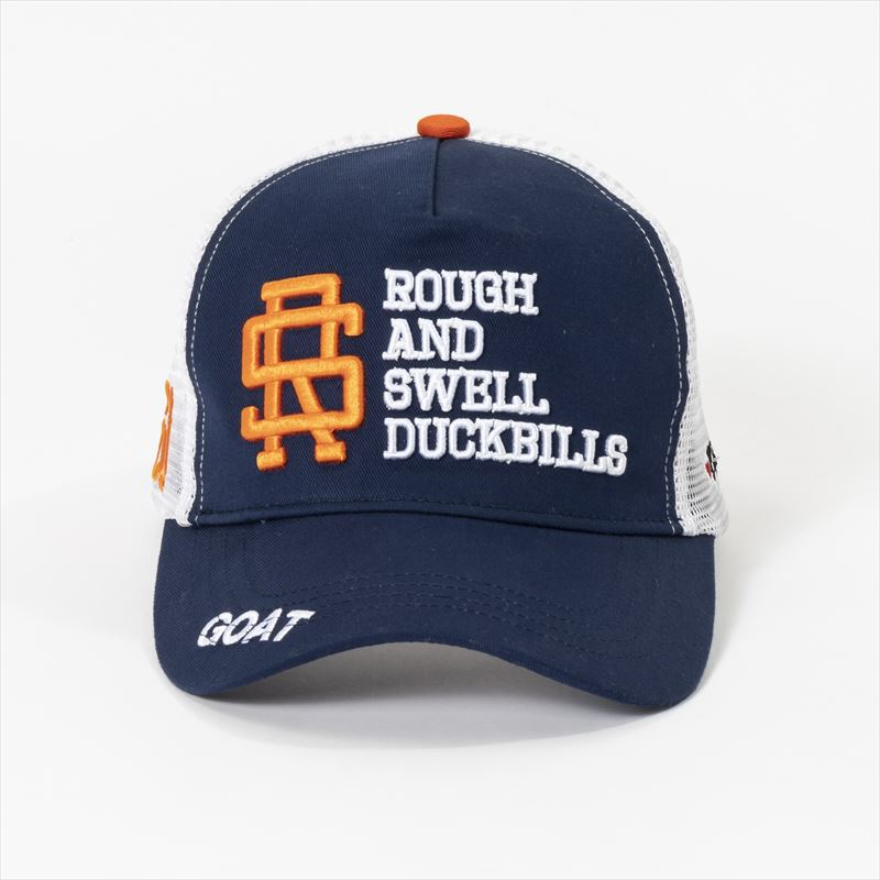 rough & swell TOUR MESH CAP ネイビー