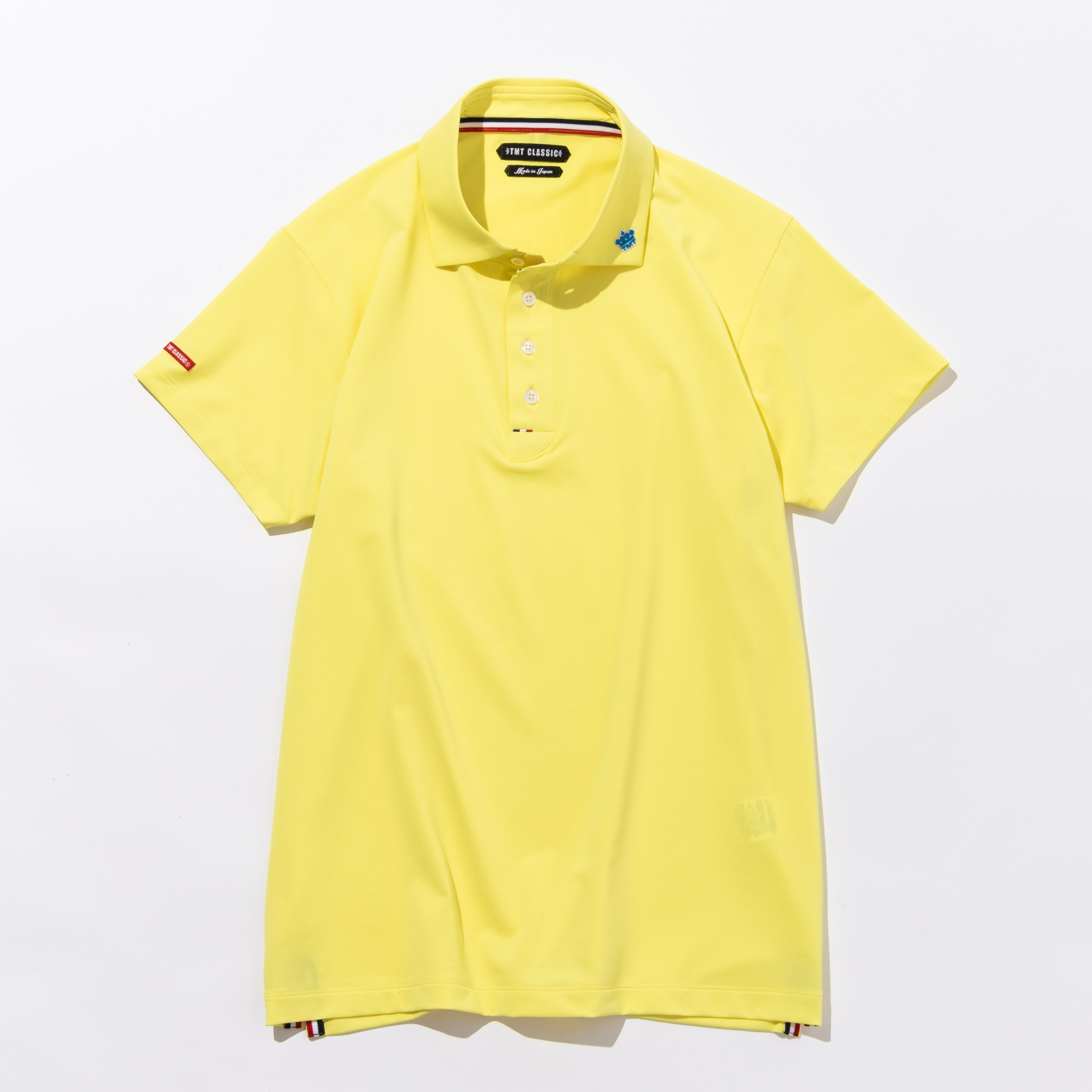 TMT Classic FUNCTIONAL STRETCH JERSEY POLO SHIRT イエロー
