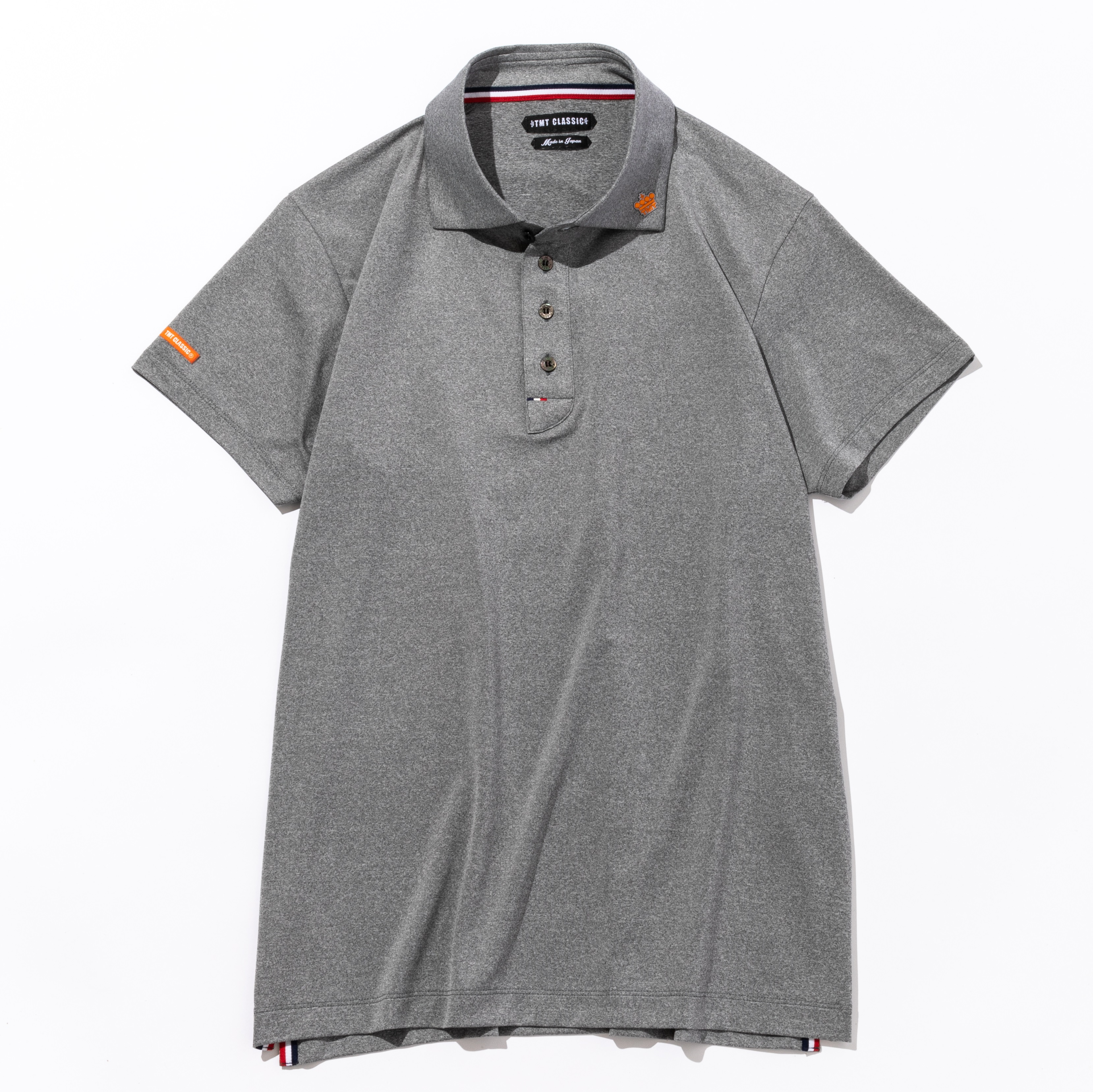 TMT Classic FUNCTIONAL STRETCH JERSEY POLO SHIRT グレー
