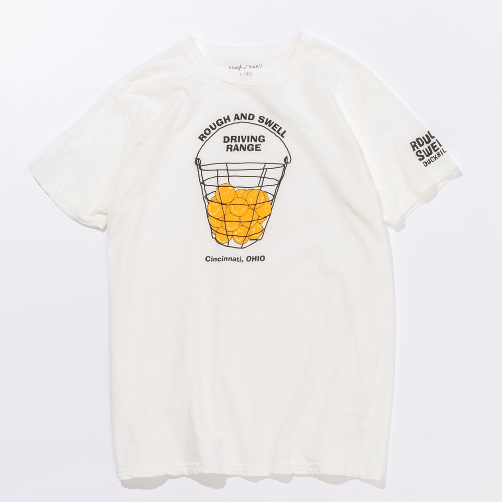 rough & swell DRIVING RANGE TEE シャツ