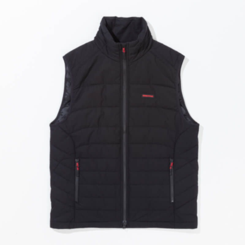 BRIEFING PADDED VEST ブラック